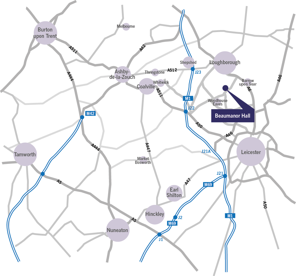 Beaumanor_map
